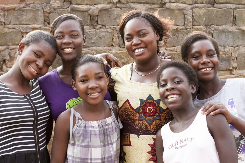 Zambia: Hope House is a safe place for vulnerable girls and young women in Mpulungu, Zambia. Five girls currently live in the house with OMer Cecilia (centre). Besides having a safe place to live, the girls are able to continue their education and develop spiritually. More Info