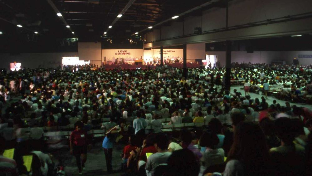 International: The first Love Europe congress gathered 7000 people in Offenburg, Germany, in July 1989 More Info