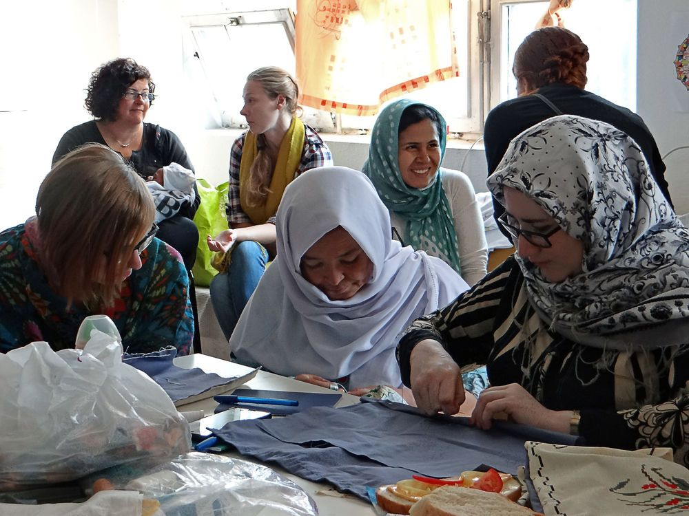 Hungary: OM women attending a short-term missions forum in Budapest, Hungary, visited a refugee center for a day of outreach. The OMers led a sewing craft and worship songs, shared a testimony, served lunch, and spent time hearing the stories of the refugee women and children. More Info