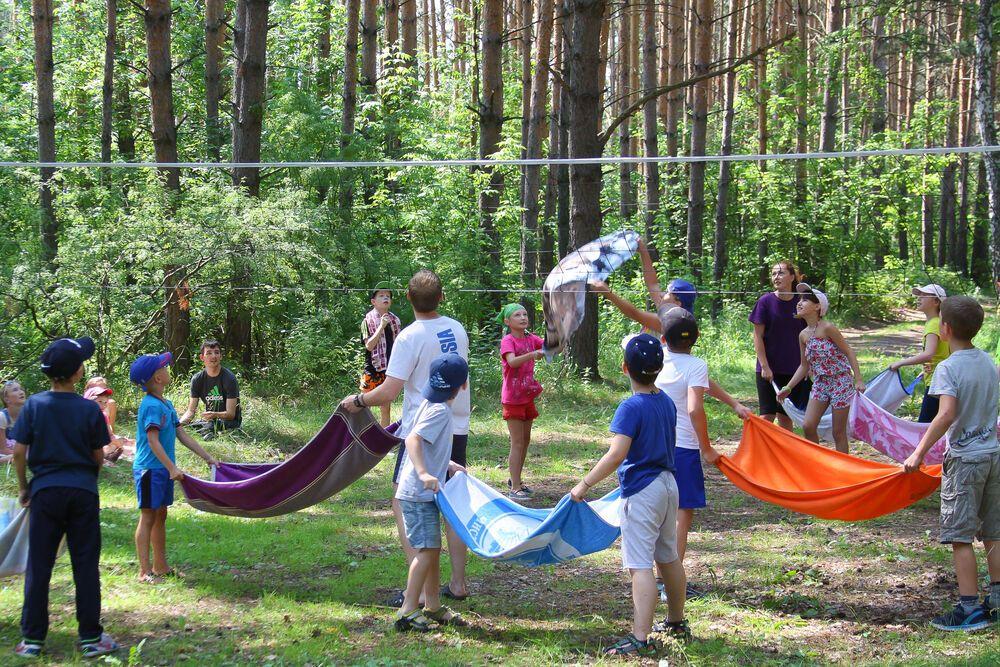 Russia: Childrens camp More Info