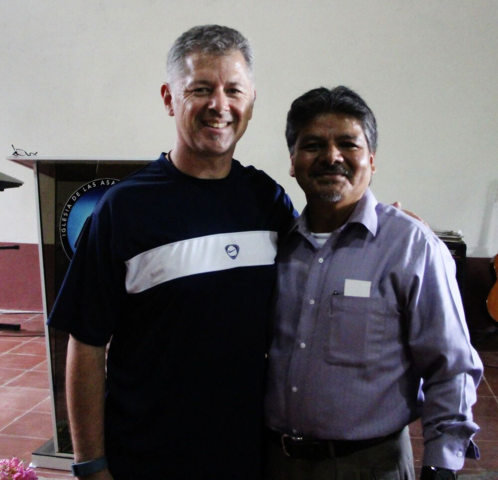 El Salvador: Tony McCormick from USA, visiting Pastor Jorge Quiros, in El Salvador More Info