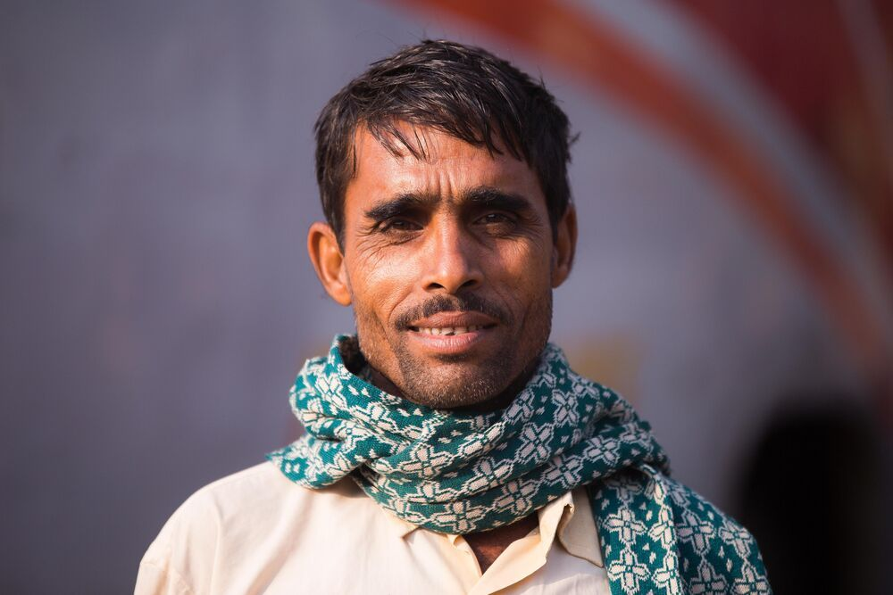 Portrait of a Bangladeshi man