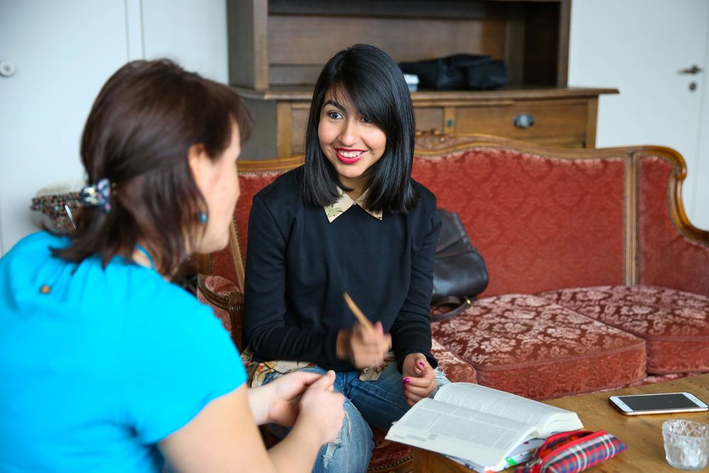 Mentoring is an important part of the discipleship program at Hope for Zurich. Photo by Anja B.
