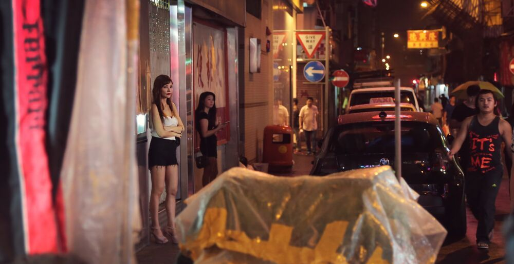 In Hong Kong, a woman shares her story with an OM team, telling them about her job as a sex worker.