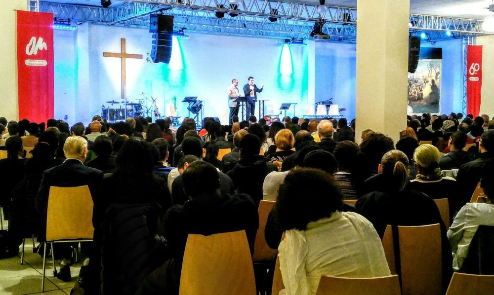 France: Lawrence Tong preaching at Pontault-Combault Baptist Church More Info