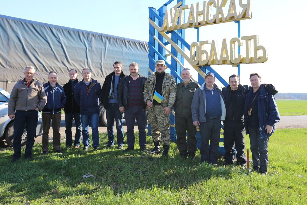 OM Ukraine, in an effort to get more churches involved in ministry in the war zone organised a humanitarian trip for church leaders from different denominations to the war zone.