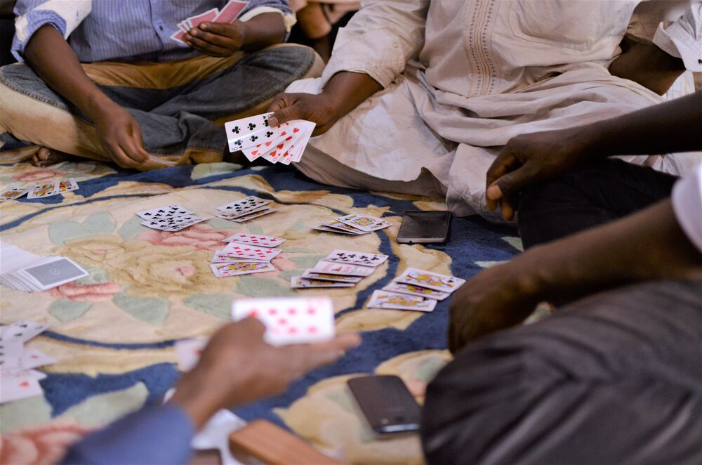 Playing popular card games such as Fourteen in Central North  Africa creates opportunities to share about Christ.