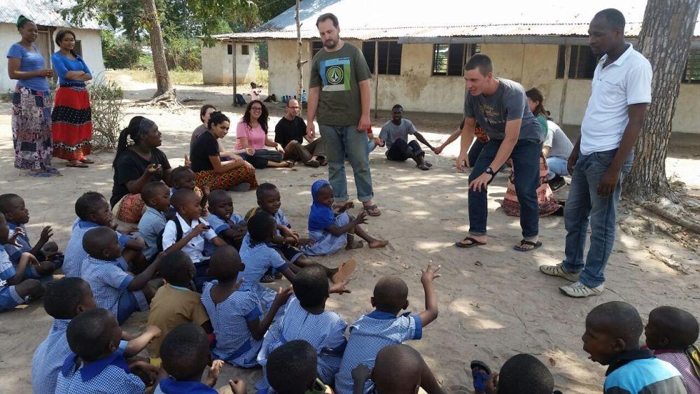 Tanzania: The Africa Trek sharing their faith in Tanzania. More Info