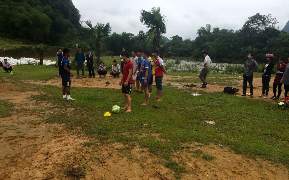 Vietnam: The OM team in Vietnam uses sports as an open door to minister to those who dont know Jesus. More Info