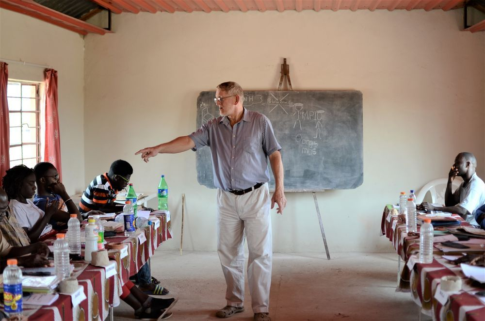 Angola: Wessel and Joan van der Merwe are committed to discipling the next generation in Angola with Gods Word. More Info