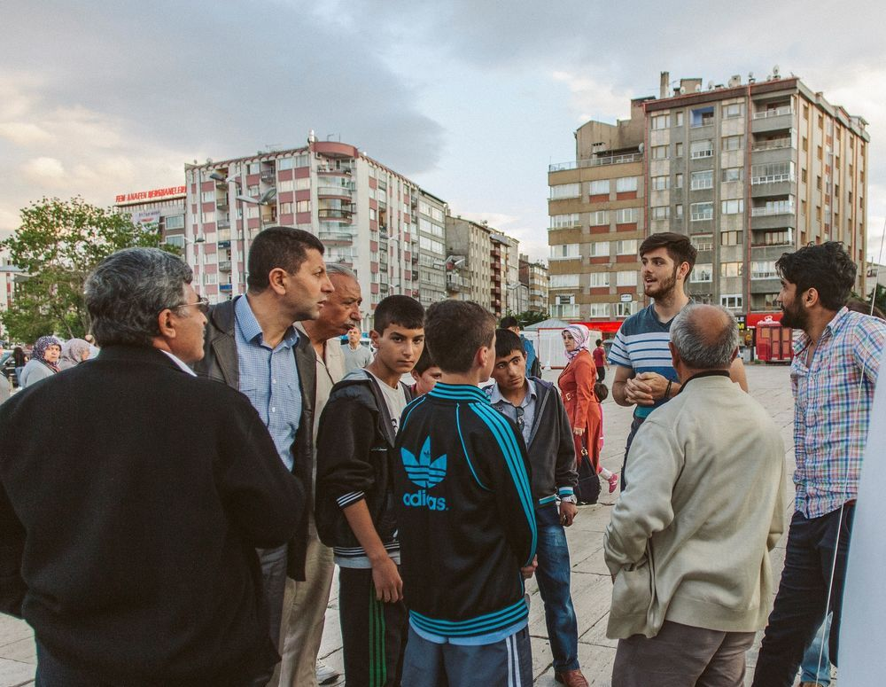 Turkey: The team took many opportunities to talk to people in unreached parts of Turkey during the 2017 outreaches. More Info