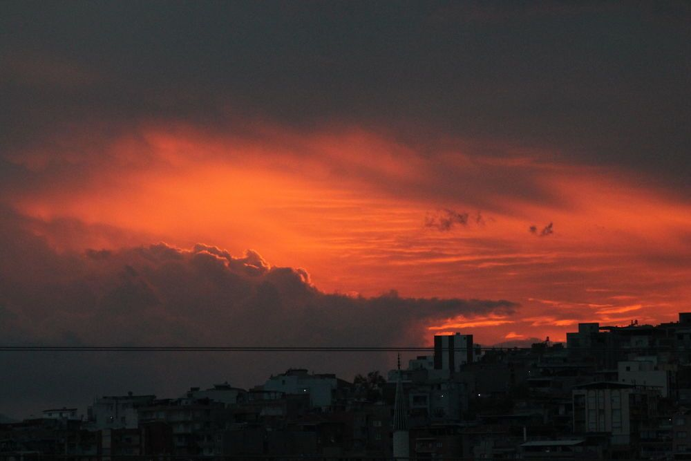 Turkey: Sunset over the city. More Info