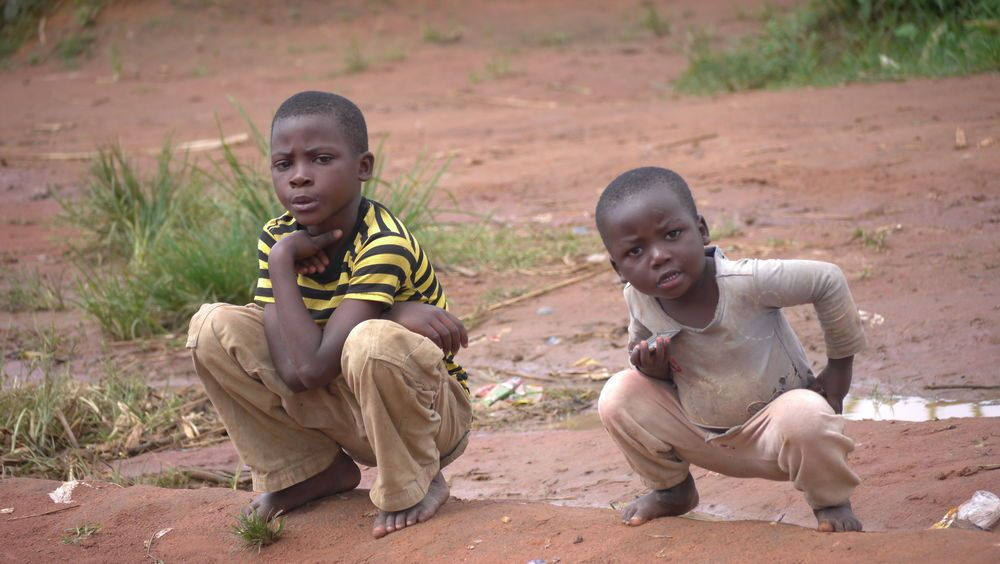 Zambia: Kids pose for a photo in Kasama, Zambia. More Info