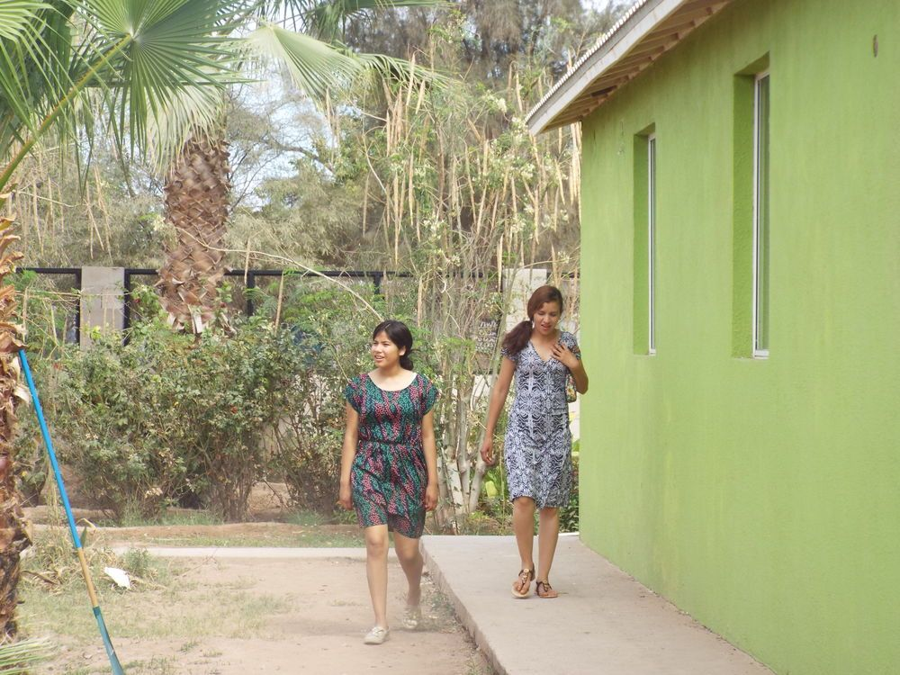 Mexico: Village girls walking to the church. More Info