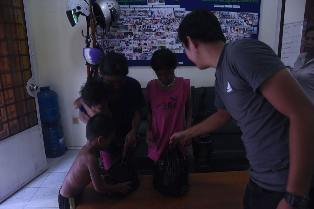 Cambodia: A woman visits the OM MTI office after her husband beat her, seeking safety, but decides to return to him later that day. The team gifts her a bag of rice to take back with her. More Info