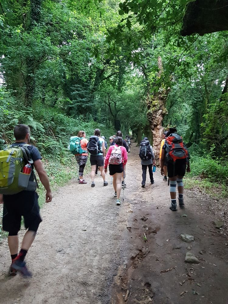 Spain: Transform team walking the pilgrim route to Santiago de Compostela, sharing the Gospel with people they meet. More Info