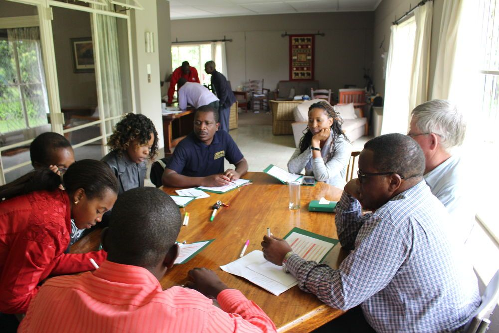 Zimbabwe: Jessica Shumba leads a strategic planning discussion More Info