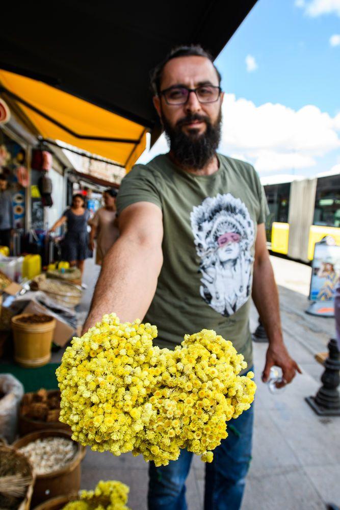Turkey: Dried spice vendors Turkey.  Photo by Garrett N More Info