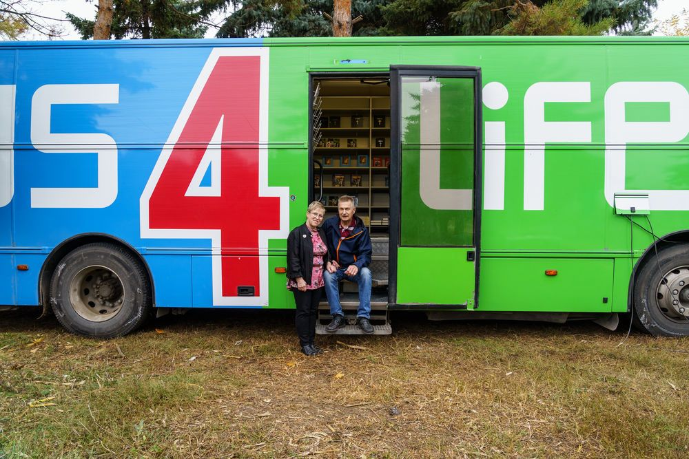 Finland: Bus 4 Life in Moldova, images for Risto and Terttu Venäläinen Circulate story.  Image by Garrett N More Info