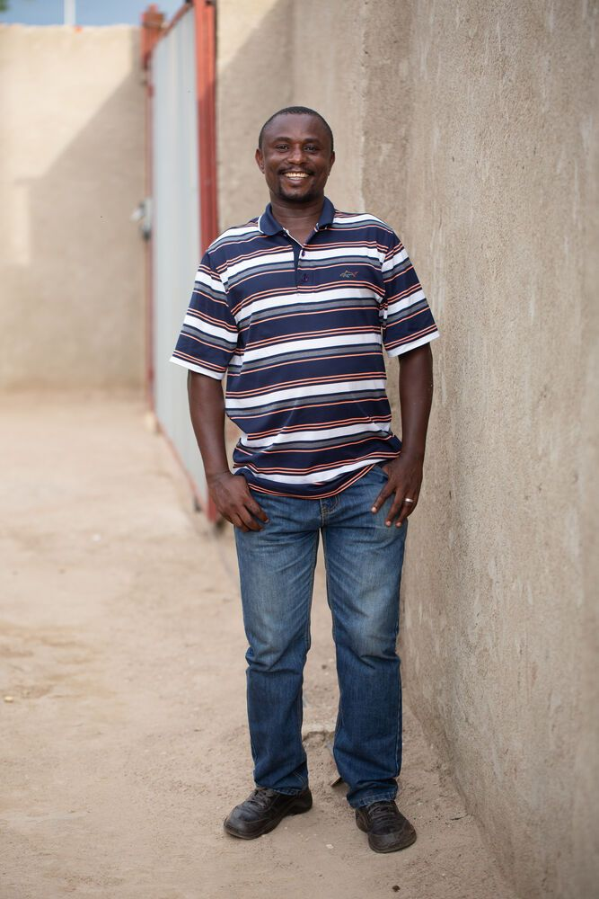 Zambia: Peter Chila, the head of Bethesda Mercy ministry for the disabled community in Zambia. Photo by Brad Livengood. More Info
