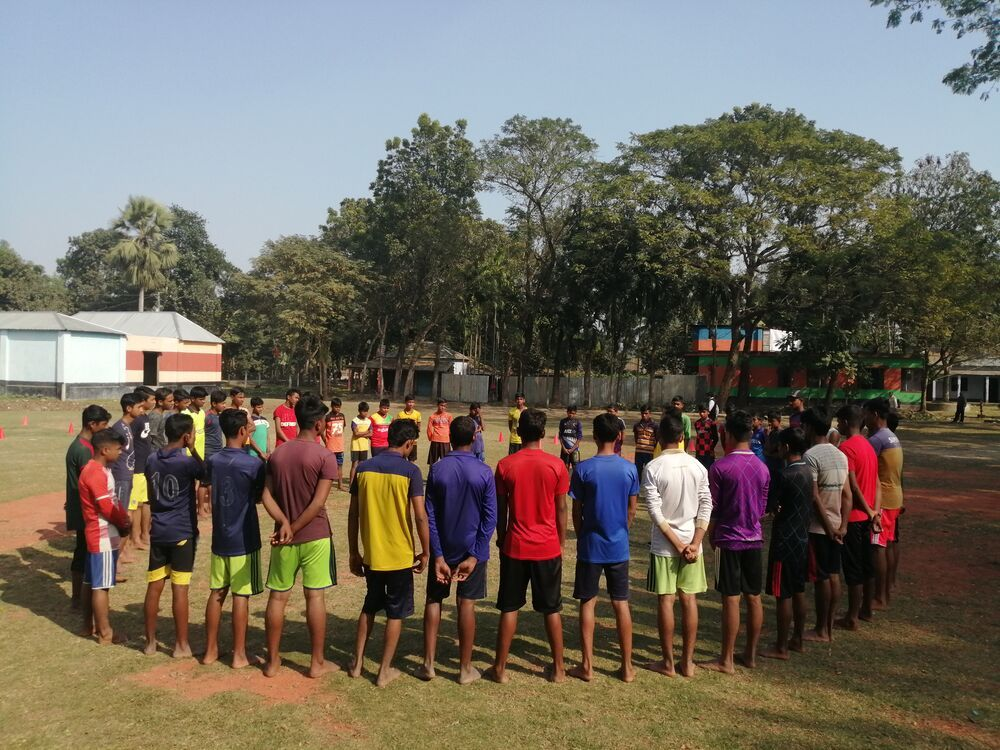 Bangladesh: Children in rural villages in Northern Bangladesh have the opportunity through OM to attend school, receive an education, and play games and sports for fun. More Info
