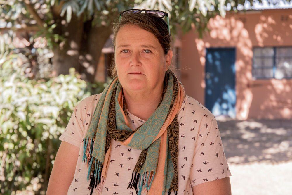 Anne Davidson, the coordinator of Mercy House ministry in Kabwe, Zambia. Photo by Kauya Mali.