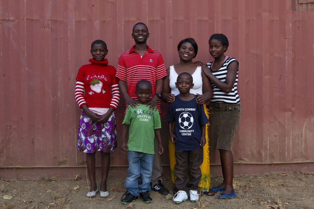 Zambia: Simon and Edah, both from Zambia, have a passion for bringing the church to people wherever they are. Photo by Rebecca Rempel. More Info