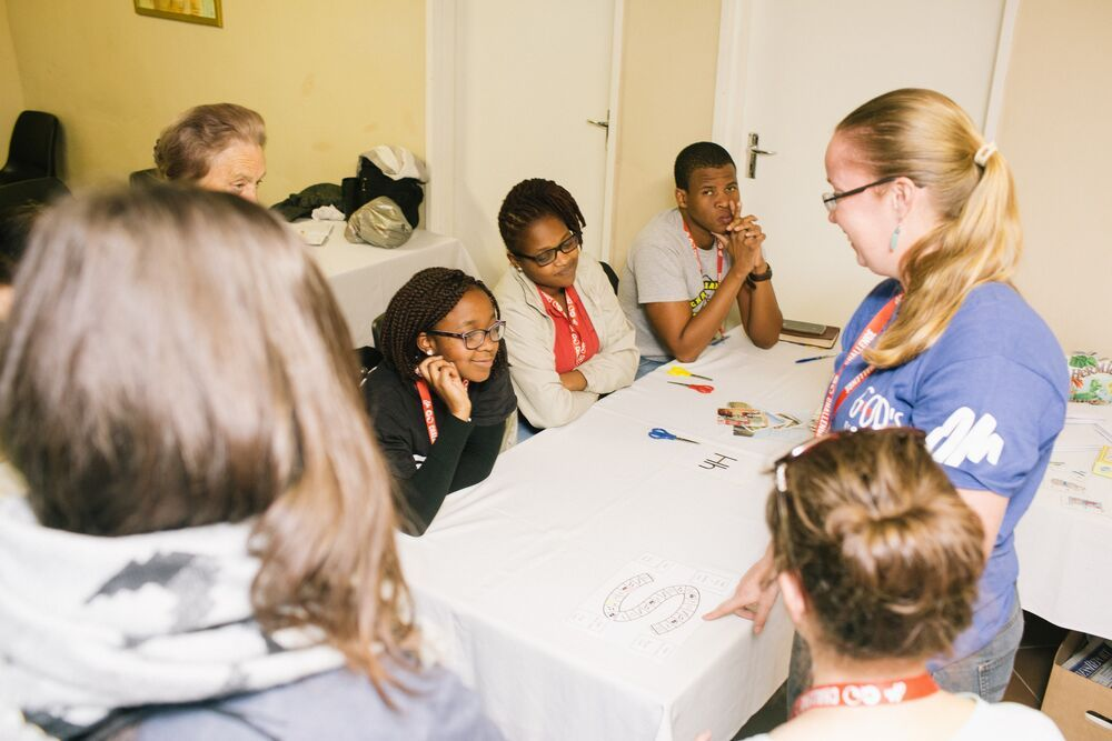 South Africa: Marleen is passionate about training adults to work with children. Photo by DoSeong Park More Info