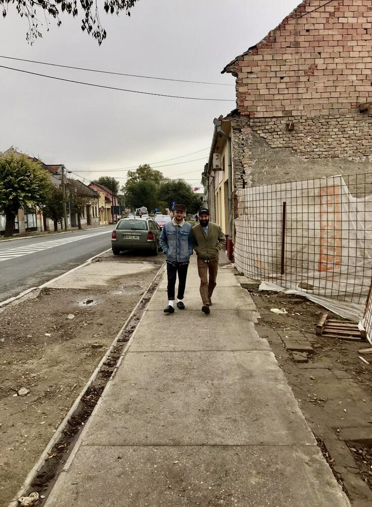 Netherlands: Robbie Smitskamp walking in a street in Serbia while on his short-term mission trip in October 2019. More Info