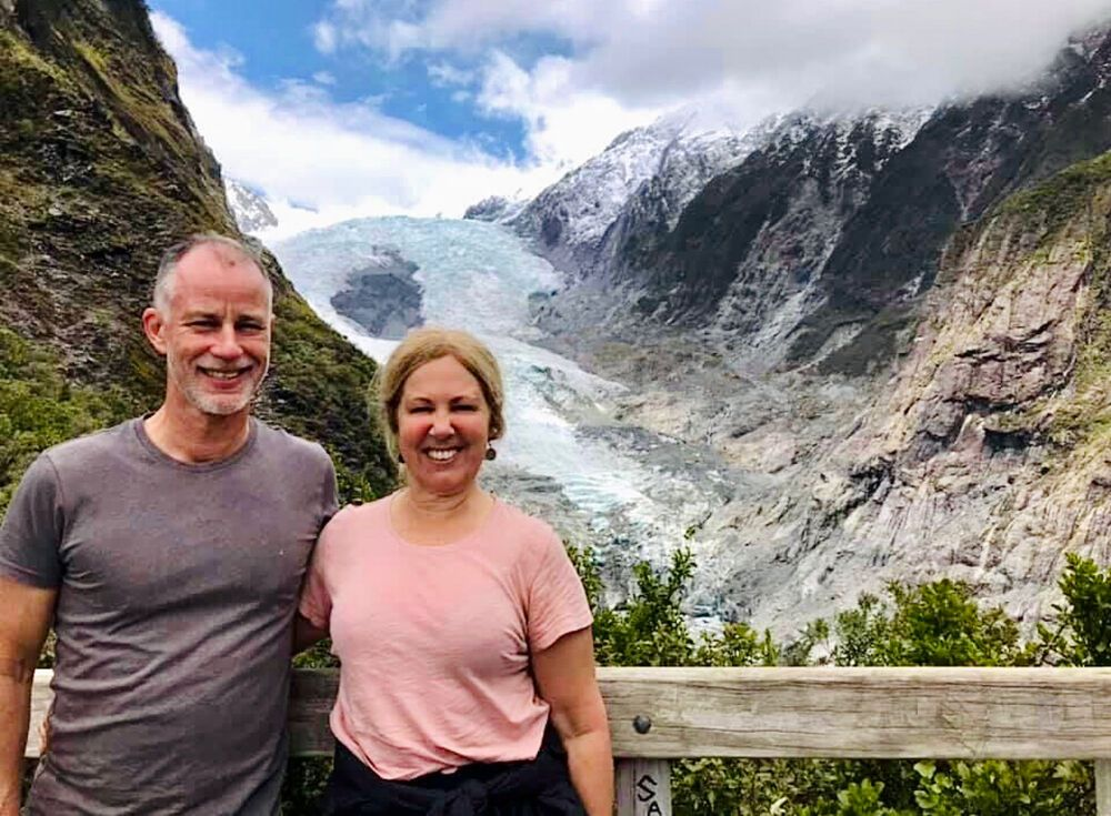 Steve and Jane Pemberton (Australia) experience the joy of giving back to God through offering what He has given to them.