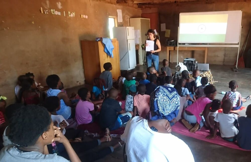 South Africa: Lina, from Colombia, has a passion for mobilising children to be a part of missions. More Info
