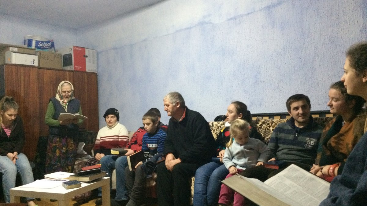 """""""I have never seen people with a faith like yours"""" – in Moldova"""
