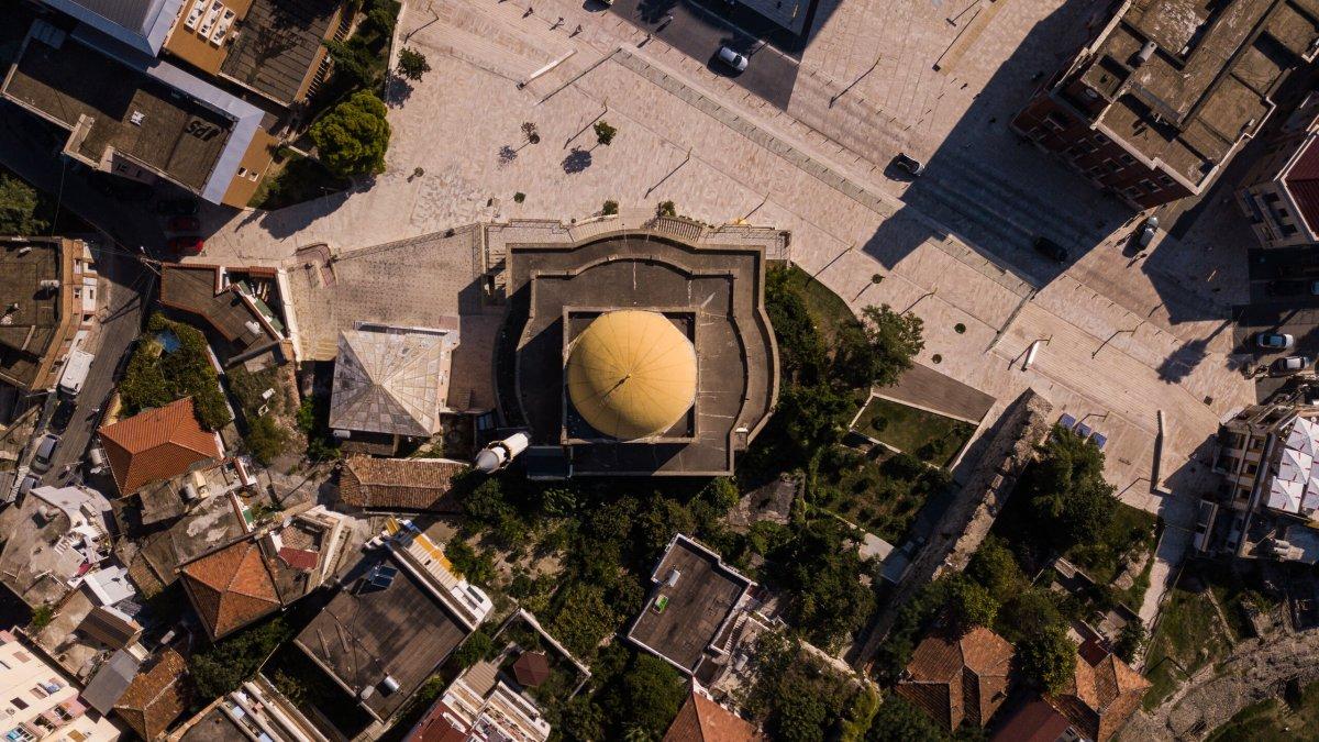 Aerial views of Mosques, Montenegro - Photo by Garrett N