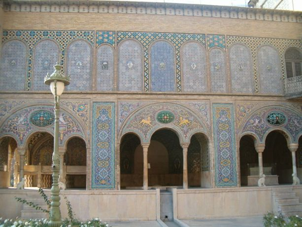 Iran: Highly decorated building in Iran. More Info