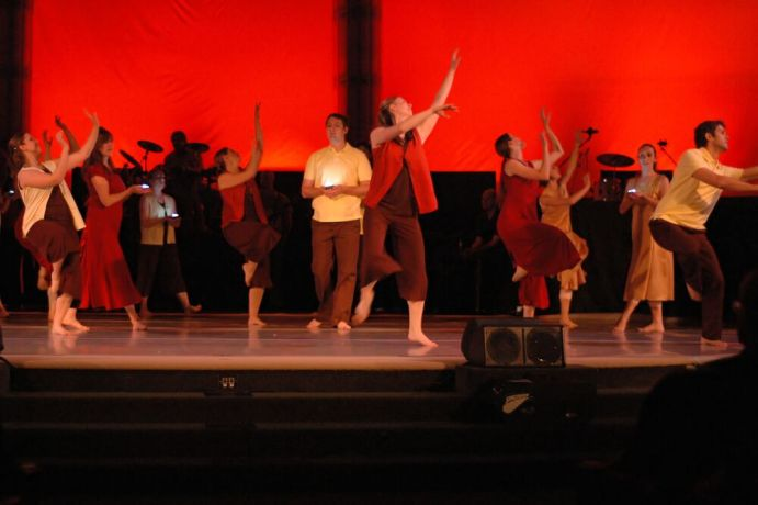 United States: Dance company celebrating OMs 50th anniversary. More Info