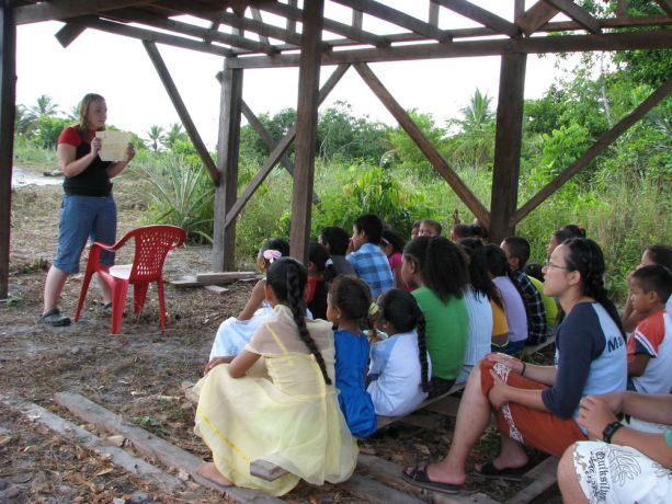 Guyana: Childrens Bible club in the jungle! More Info