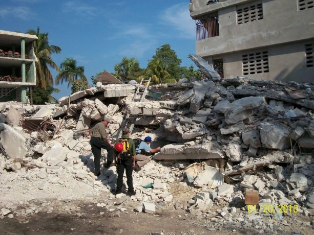 United States: The US-sent emergency response team searches for signs of life where a school collapsed on 2,000 students.  More Info
