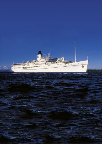 Ecuador: MV Doulos sails into Bougainville Island, Papua New Guinea. More Info