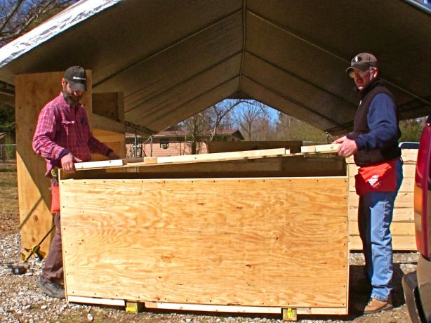 United States: These crates, built by members of the OM USA team, are designed to be converted into bunk beds when they reach their destination in Haiti. More Info