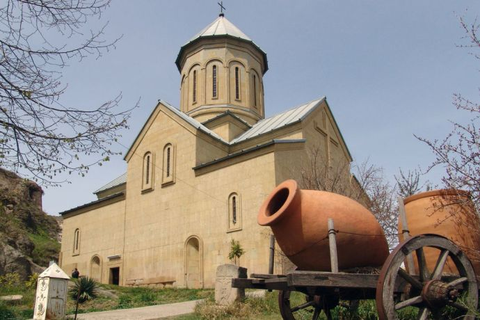 Caucasus: Georgia is a Christian Orthodox country. More Info