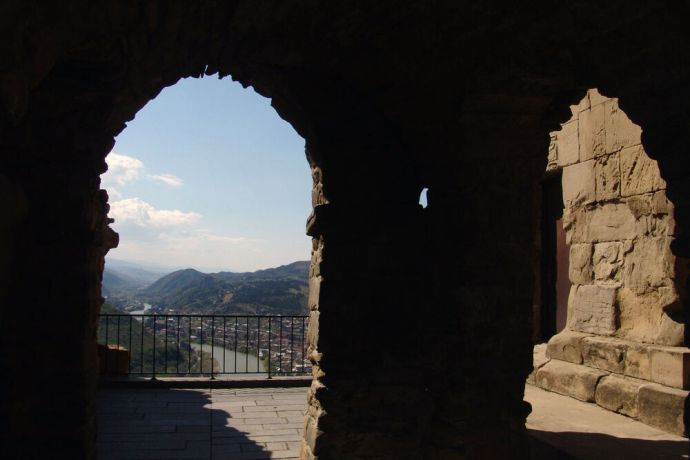 Caucasus: Georgian scenery. More Info
