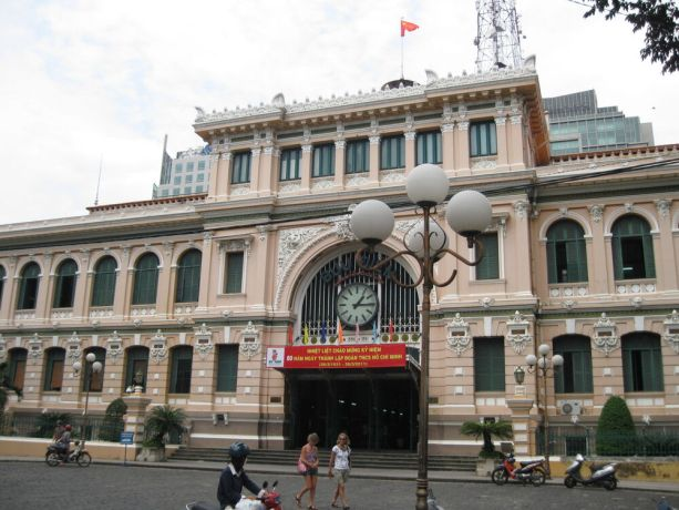 Vietnam: Central Post Office in Ho Chi Minh City, Vietnam. Built in early 20th Century when Vietnam was part of French Indochina More Info