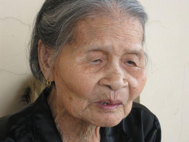 Vietnam: Closeup, elderly Vietnamese woman 2 More Info