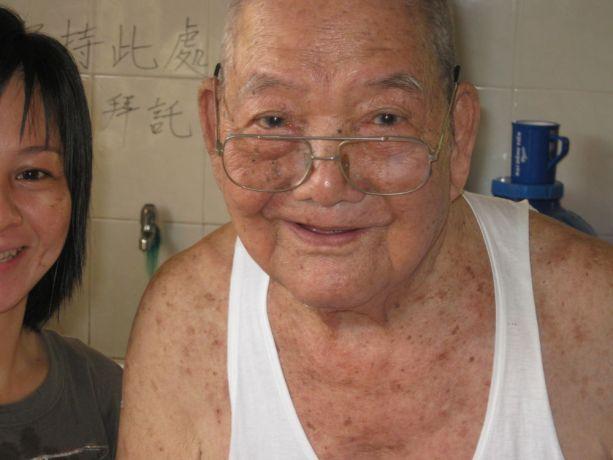 Vietnam: Closeup, elderly Chinese Vietnamese man More Info