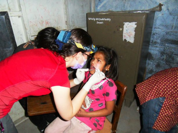 """Czech Republic: During a 4-week medical mission called """"Medical Trek to a remote area of the Himalayas, short-term medical workers from the Czech Republic provided basic dental care. More Info"""