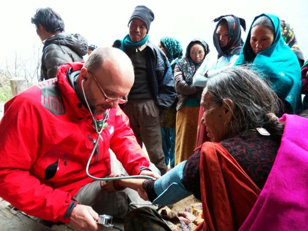 Czech Republic: Three Czech doctors and a nurse worked with local Christians and the local OM team in a remote area of the Himalayas. They provided medical care in slums and cared for the homeless and HIV patients. More Info