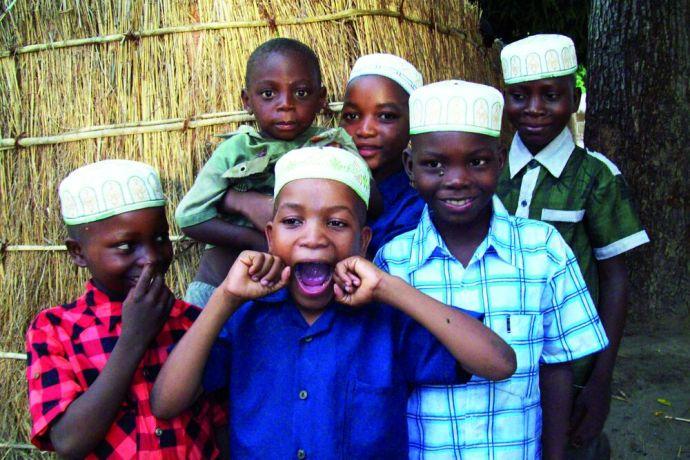 Mozambique: Pre-school boys in the north of Mozambique More Info