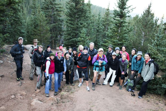 United States: Participants of the hike that following the first Freedom Climb Conference chose between one of three trails, each symbolic of the climb to freedom that enslaved woman and children face. More Info