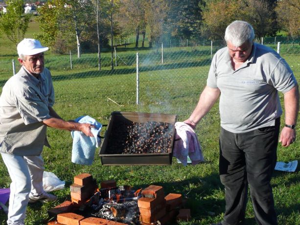 Bosnia & Hercegovina: Roasting chestnuts - an annual tradition in Bosnia. Great low cost fun! More Info