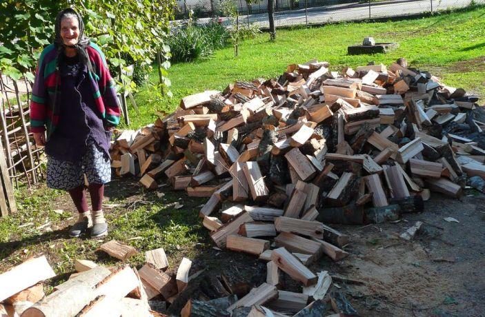 Bosnia & Hercegovina: I am no longer afraid of the winter... Praise God, now Im able to heat my house!  More Info